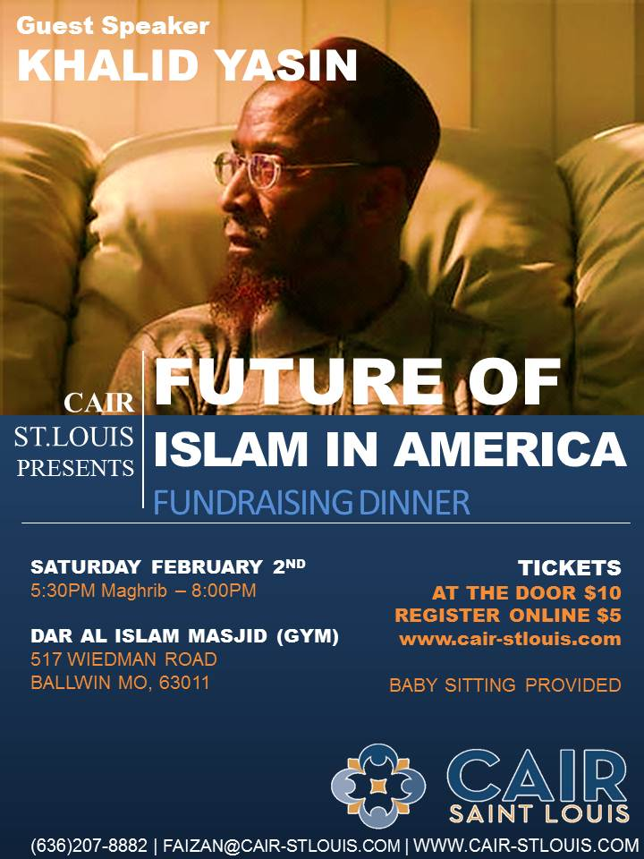 cair st  louis  u2013 loves hate preacher khalid yasin  but protests hiring of retired military
