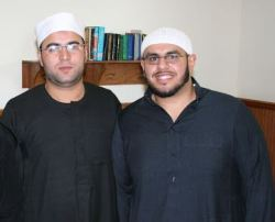 Dahee Saeed is with the Islamic Center of Johnson County pictured with Soltan in Kansas City