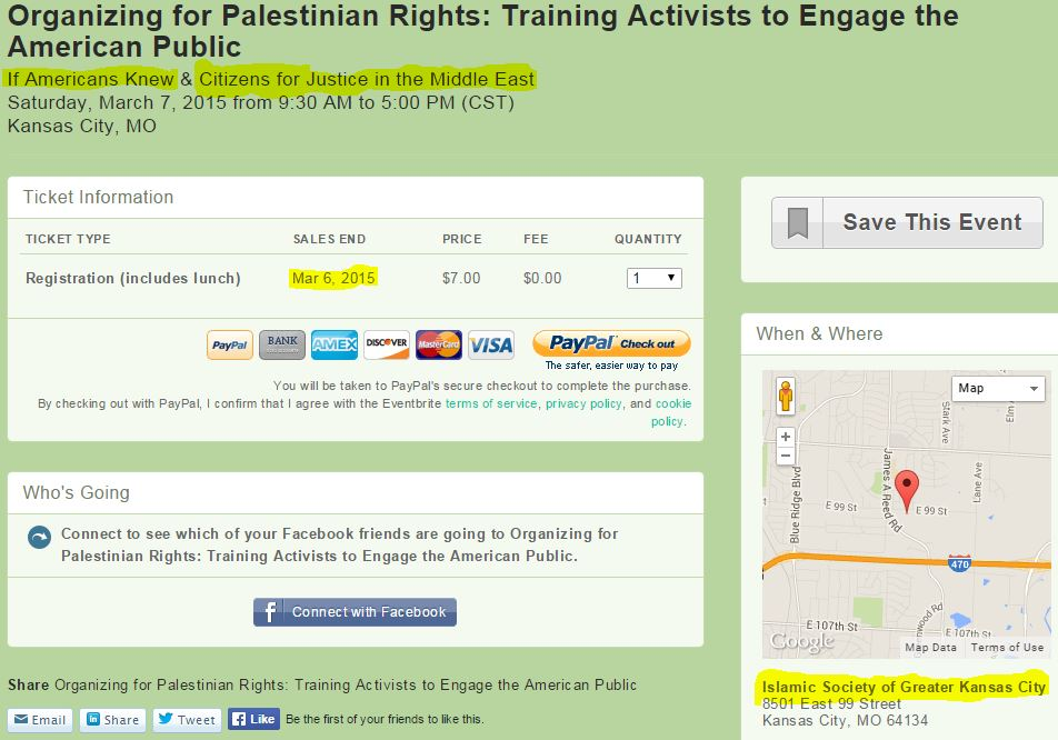 CJME another EVENT page for ISGKC training activists