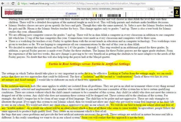 H Ghazali post ISGKC net 1999 post 2