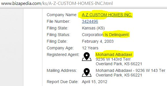 M Albadawi AZ Custom Homes