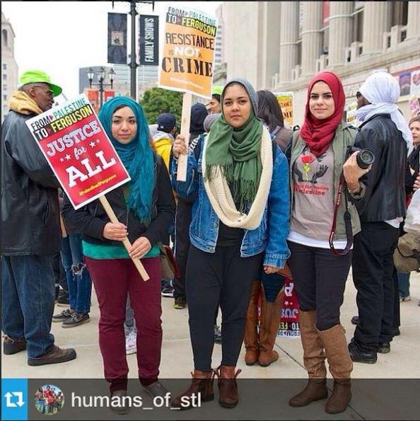 UMKC MSA  Sara Jawhari ferguson protesting journalist