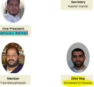 The Executive Committie for ISGKC 2011 included ISNA Rep. Mohammed El-Housiny.