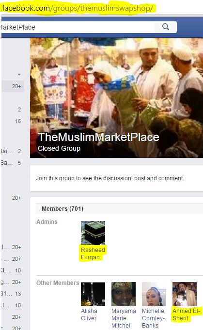 Rasheed Furqan administrator for Muslim MarketplaceKC