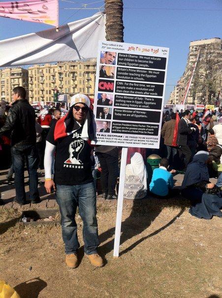 Mohamed Soltan in Egypt 10