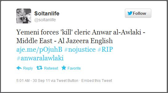 Mohammed Sultan MSA Ohio Screen Capture Anwar A Awlaki