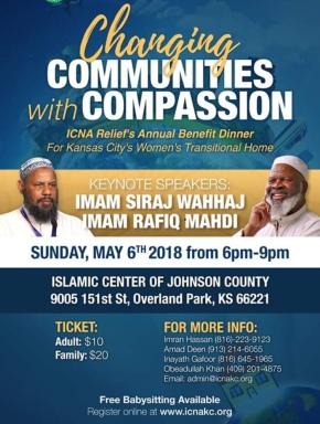 Siraj Wahaj at Islamic Center of Johnson County
