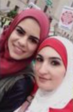 Sara Jawhari with Linda Sarsour